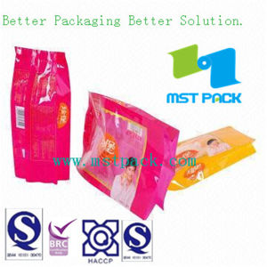 Back Side Seal Bag for Snack, , Cookies Packaging Bag pictures & photos