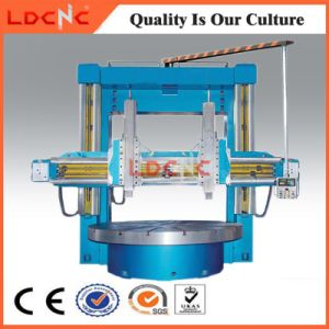 Double Column Vertical Manual Lathe for Tire Mold pictures & photos