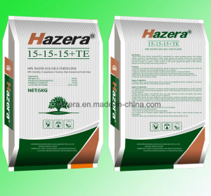 Hazera High Quality 15-15-15 NPK Water Soluble Fertilizer with Trace Elements pictures & photos