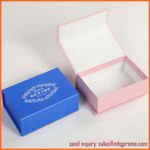 Rigid Gift Box with 3-Sided Hinged Lid pictures & photos