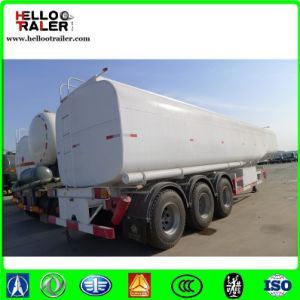 Carbon Steel Fuel Tanker Trailer with Air Suspension pictures & photos