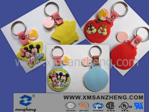 High Quality Soft PVC Keychain (SZXY194) pictures & photos