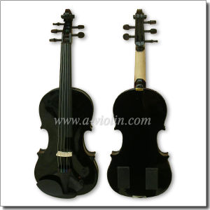 5 String Solidwood Color Electric Violin (VE500-5S) pictures & photos