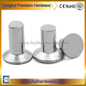 DIN661 Aluminum Countersunk Head Solid Rivets for Advertising Sign pictures & photos