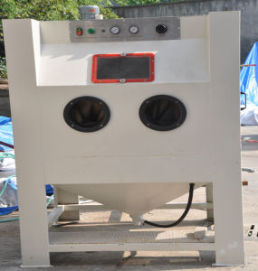 Colo-9060 Suction Blast Cabinet Industrial Sandblasting Equipment pictures & photos