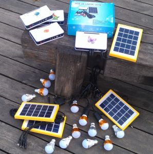 4PCS 1W Solar LED Light Lighting Kits System for Home Rooms pictures & photos
