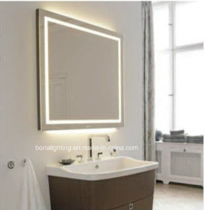china ip44 vanity mirror integrated with led lighting china led mirror bat. Black Bedroom Furniture Sets. Home Design Ideas