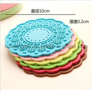 Home Decoration Flower Silicone Mug Pad pictures & photos