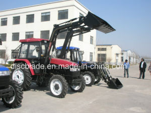 Tractor with Front End Loader and Backhoe pictures & photos