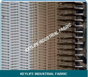 Acid Resistant Custom Fabricated Spiral Weave Screen Belting
