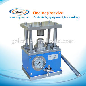 Cr20xx Button Battery Coin Battery Case Crimping Machine (GN-110) pictures & photos