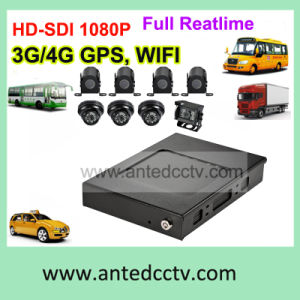 China Auto Surveillance with GPS Tracking 4G WiFi 1080P CCTV Cameras pictures & photos