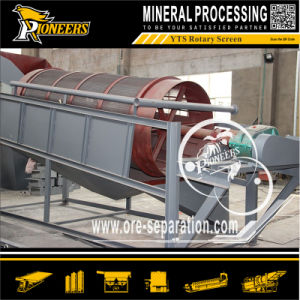 Solid Waste Recycling Quarry Stone Screen Rotary Compost Trommel Mining pictures & photos