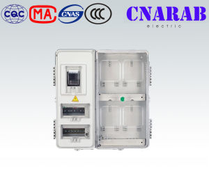 4 Way Transparent Kwh Meter Box pictures & photos