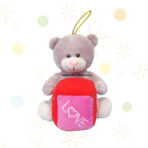Lovely Teddy Bear Keychain Gift (LE-VT100829)