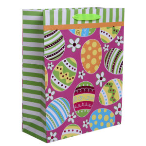 Happy Easter New Design Luxury Paper Gift Bags for Easter pictures & photos