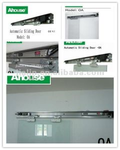 Automatic Door Control System, Frameless Sliding Glass Door Opener