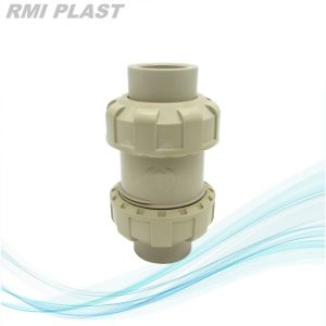 True Union PVC Check Valve for Water Supply pictures & photos