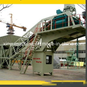 Yhzs40 Mobile Concrete Batching Plant with Capacity 40m3/H pictures & photos