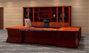 Classic Style CEO Director Office Executive Wooden Desk (HF-LTA201) pictures & photos