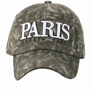 Fashion Custom Made Washed Cotton 6 Panel Baseball Cap pictures & photos