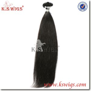 Double Drawn Hair Handtie Hair Extension pictures & photos