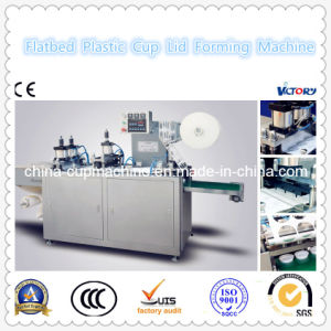2014 Automatic Flatbed Plastic Cup Lid Forming Machine