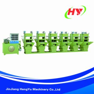 Full-Automatic Shoe Sole Hydraulic Rubber Machine pictures & photos