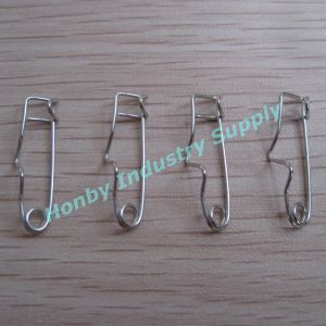 Bulk Packaging 32mm Crimp Safety Pins pictures & photos