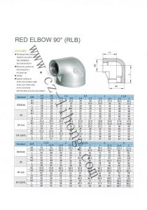 """1-1/2"""" Stainless Steel 90 Degree Elbow F/F pictures & photos"""