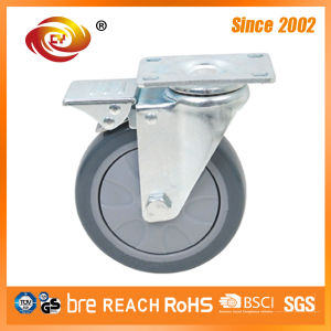 5 Inch Swivel Total Brake Caster