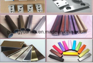 Sand Blasted Aluminum Profile Extrusion Tubing /Tubes 6063 T5 pictures & photos
