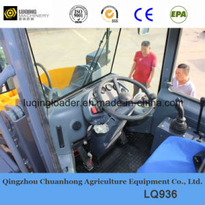 3 Ton Wheel Loader with Rated Power 92kw pictures & photos