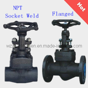 Forged Steel Globe Valve (SW, NPT, Flanged) pictures & photos