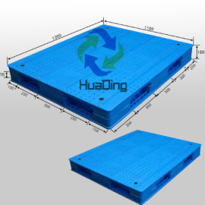 Plastic Pallet with Double-Faced, Smooth Surface, Stackable pictures & photos