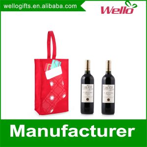 Canvas Wine Bottle Packaging Gift Bag pictures & photos