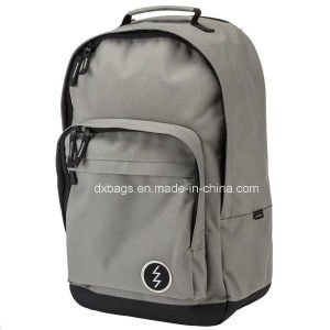 Grey Backpack, Colllege Bag pictures & photos