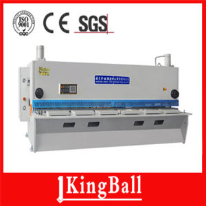Stainless Steel Shearing Machine QC11y-12X3200 with CNC Controller pictures & photos
