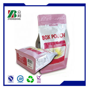 Square Bottom Biodegradable Plastic Bag for Nut pictures & photos