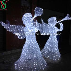 China christmas decorations light angel china christmas for Angel of the north christmas decoration