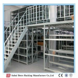 China Nanjing Heavy Duty Wire Shelving Mezzanine Floor Rack Works Plant Factory pictures & photos