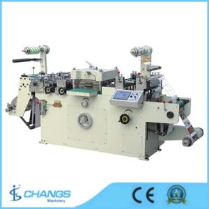 Hsm-420 Automatic Self Adhesive Label Die Cutting Machine pictures & photos