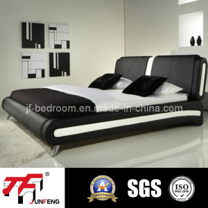 Hot Sale Leather Bed J-01