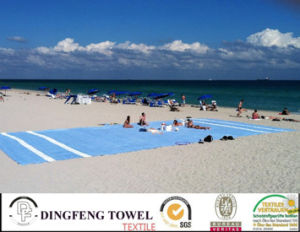 Extra Large100% Cotton Beach Towel pictures & photos