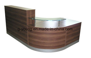 Wooden Antique Front Table Reception Desk Office Furniture