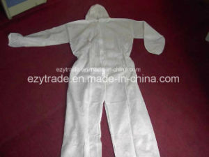 Disposable Protective Clothing Microporous Coverall China Supplier pictures & photos