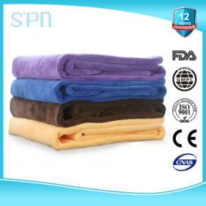 80%Polyester 20% Polyamide Effective Surface Cleaning Split Microfiber Towel pictures & photos