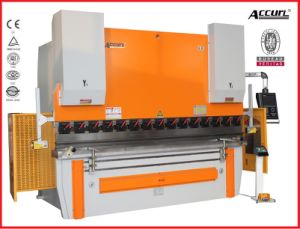 Accurl 2014 New Machinery Hydraulic CNC Brake MB8-160t/4000 Delem Da-66t (Y1+Y2+X+R axis) Bending Machine pictures & photos
