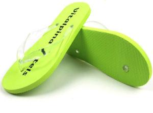 Green EVA Flip Flops pictures & photos