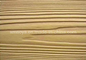 China waterproof cladding panel wood grain fiber cement for Wood grain siding panels